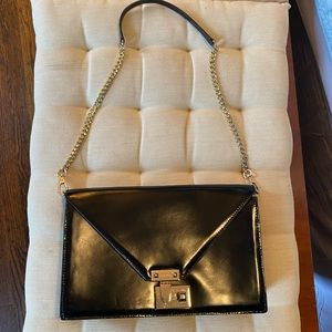 Rebecca Minkoff Black Runway Handbag.